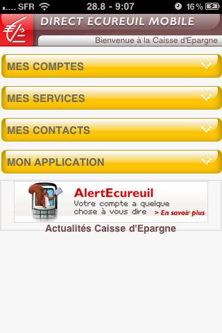 Comment suivre son compte bancaire caisse d 39 epargne sur iphone bonjou - Comment fermer son compte bancaire ...