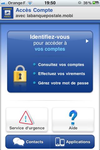 Découvrez la Nouvelle Application iPhone de la Banque Postale - BonjourMaBanque
